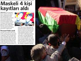 PKK'lılar Cizre'de Kamera Kayıtlarına el Koymuş