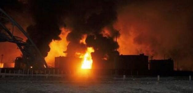 Çin'de şiddetli patlama: 17 ölü