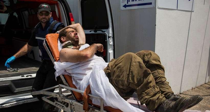 11 İsrail Askeri Zehirli Gaz'dan Yaralandı