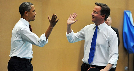 David Cameron: Başkan Obama bana 'kanka' diyor