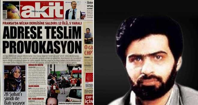 Akit Yazarı Paris Saldırısını Yorumladı: One Minute !