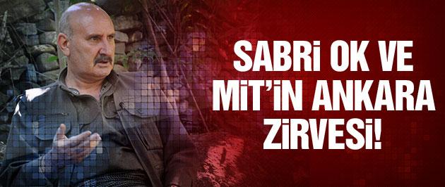 'KCK'lı Sabri Ok ile MİT Ankara'da görüştü!'