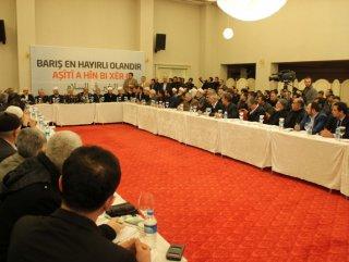 İHH'nın Kürt Meselesi ve Çözüm Süreci toplantısı