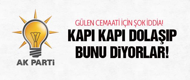 AK Partili Metin Külünk'ten şok Cemaat iddiası