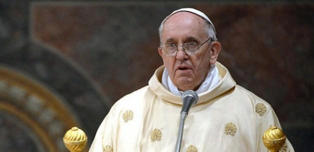 Papa'dan Küstah Açıklama