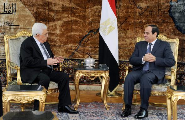 Abbas, Sisi ile Görüştü