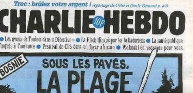 Charlie Hebdo Bosna Katliamıyla da Dalga Geçti