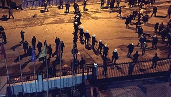 Akit Gazetesi Binasına Saldırı
