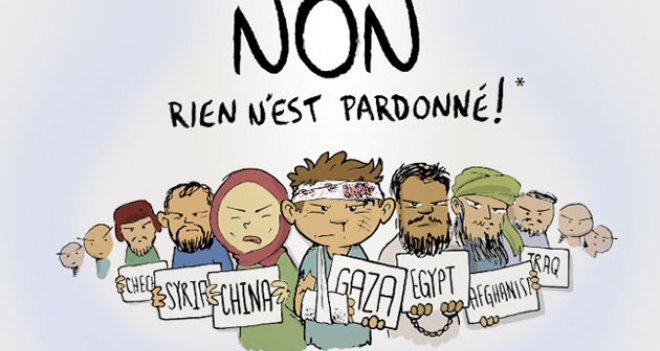 CafCaf Charlie Hebdo'yu Fena Kapak'ladı