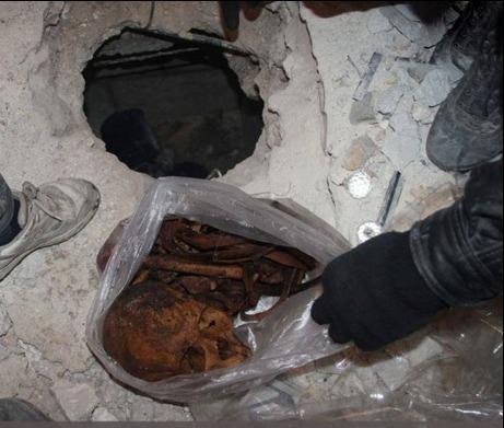 Tekfirci Teröristler Sunni Alimin Mezarını Tahrip Etti (FOTO)