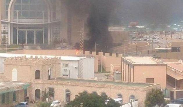 IŞİD Libya'da otele Saldırdı