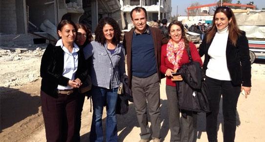 HDP'liler Kobani'ye geçti