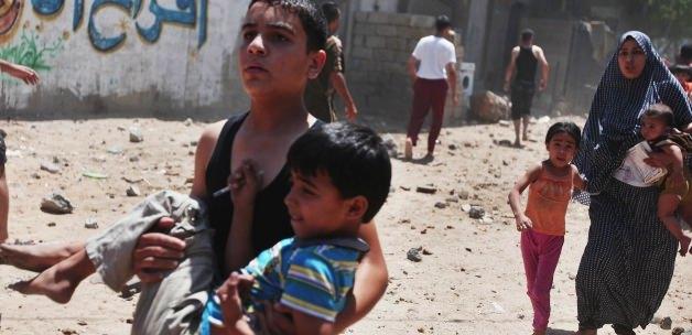 İsrail Sivilleri Kasten Vurdu!