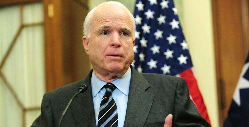 McCain Putin, IŞİD'den Daha Büyük Bir Tehlike