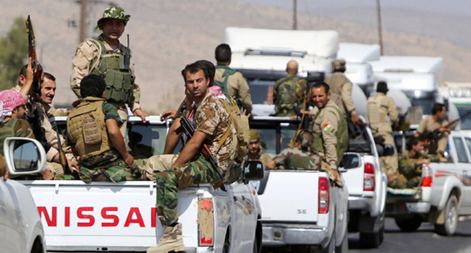 Barzani: Savaşa Bin Peşmerge Öldü