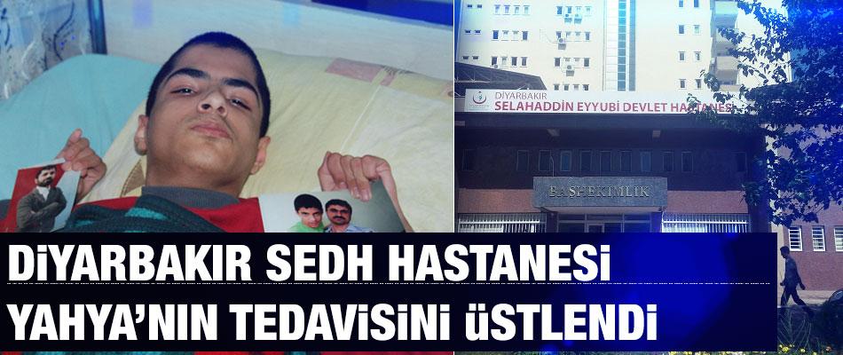 Diyarbakır SEDH Yahya Boylu'nun Tedavisini Üstlendi