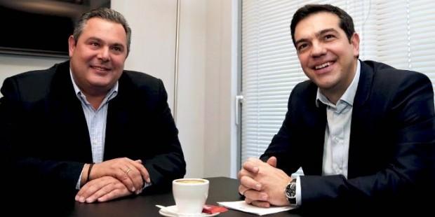Yunan Savunma Bakanı'nın İlk İcraatı
