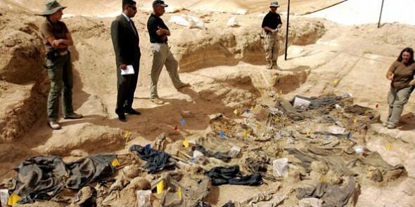 Yezidilere Ait toplu Mezar Bulundu