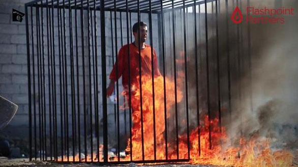 Hamas: Ürdünlü Pilotun Yakılması Ürdün ve ABD'nin Suçu