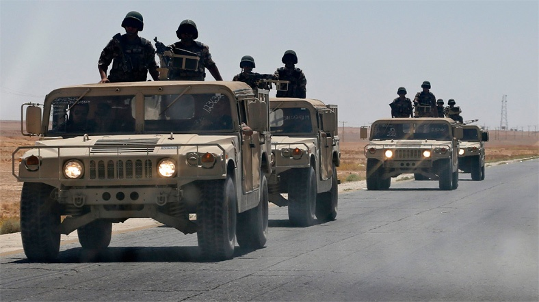 Ürdün ve İngiltere'den Ortak Askeri Tatbikat