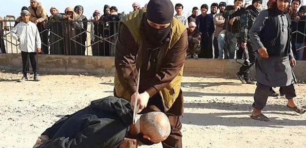 IŞİD'den Kan Donduran İnfaz