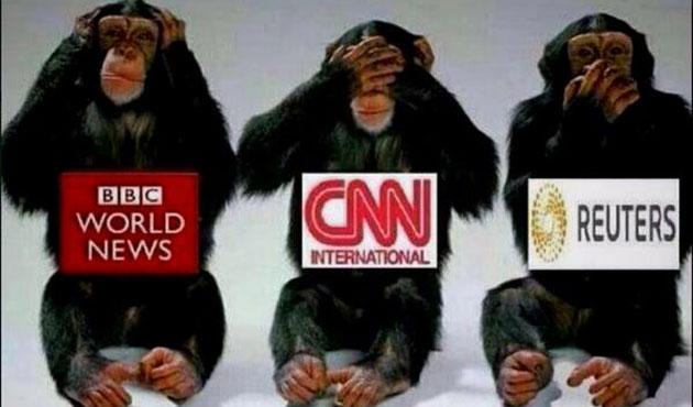 Dünya Medyası ABD'deki Nefret Cinayetine Sağır