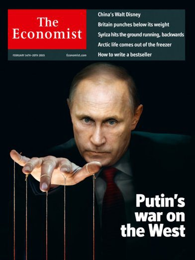 The Economist'ten Putin Kapağı