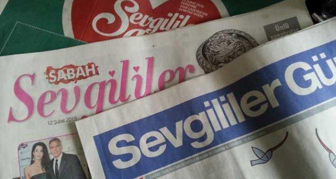 Muhafazakar gazetelerin 'Sevgililer Günü' İlgisi