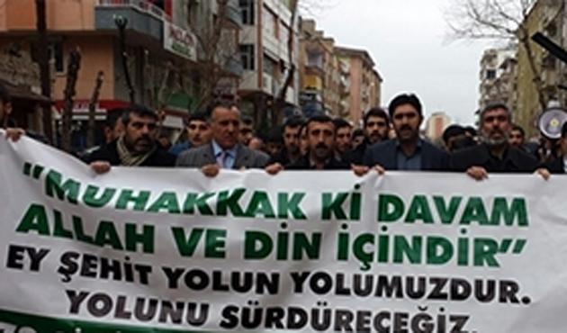 Diyarbakır'da Şeyh Said Yürüyüşü