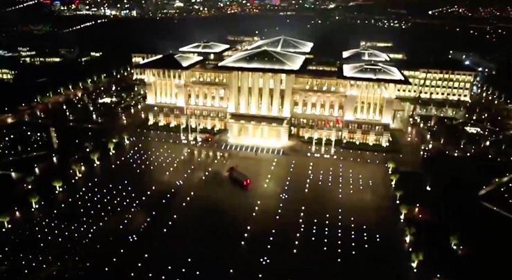 Ak Sarayın Elektirik Faturası Şok Etti