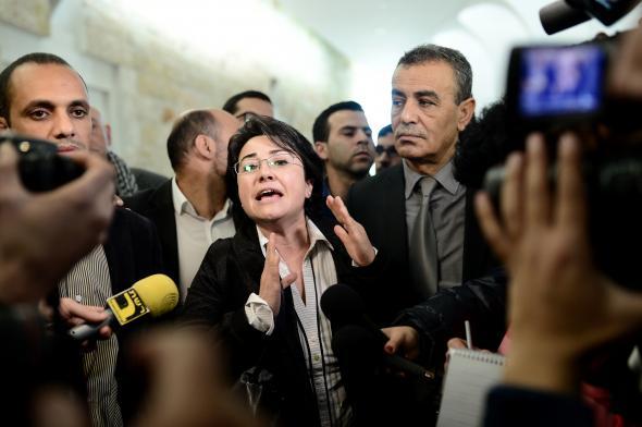 Arap Milletvekili Zuabi Aday Olabilecek