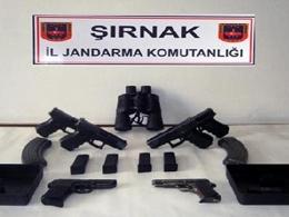 İdil'de PKK Silahları ile PYD İlaçları Ele Geçirildi