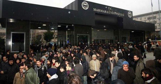 Marmara Üniversitesi Yine Karıştı
