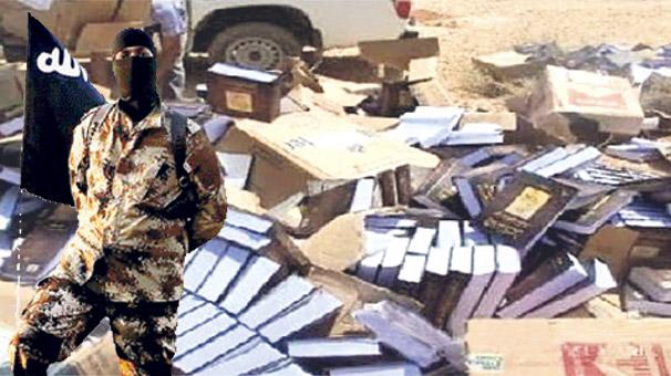 IŞİD Musul'da Osmanlı Arşivini Havaya Uçurdu