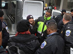 İsrail Karşıtı Protestoculara Gözaltı