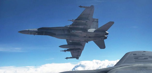 Irak Ordusu ABD Uçağı Düşürdü