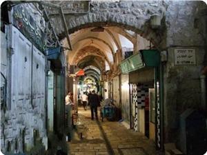 Yahudi Yerleşimciler Eski Belde Çarşılarına Atık Maddeler Atıyor