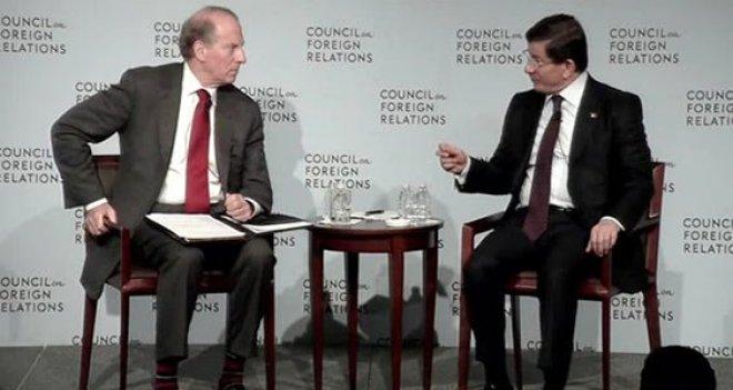 Davutoğlu New York'ta Siyonist Lobi CFR'nin 'Onur Konuğu' Oldu