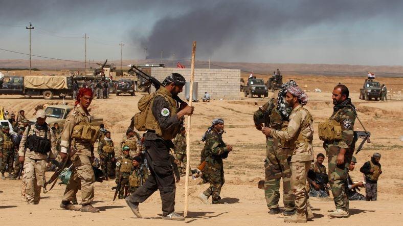 Tikrit'e İlerleyiş Sürüyor