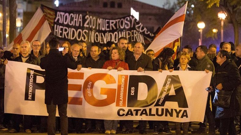 PEGIDA Gösterileri İspanya'ya Sıçaradı