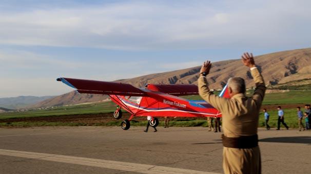 Iraklı Mucit Peşmerge için Uçak Yaptı