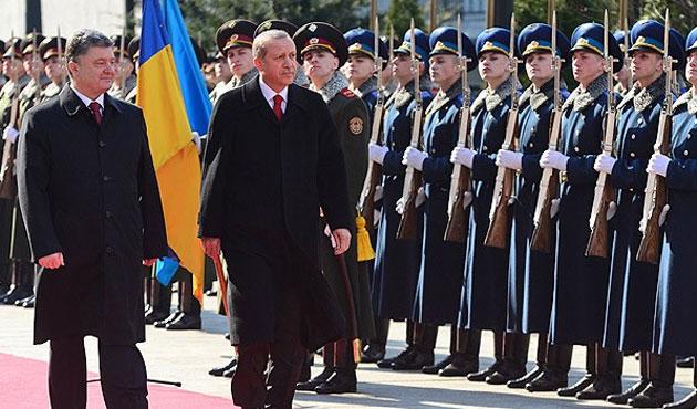 Erdoğan, Ukrayna Ziyaretine Başladı
