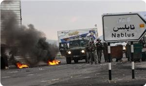 İşgalciler Nablus'ta Yine Saldırdı ve Birçok Filistinli Genç Yaralandı