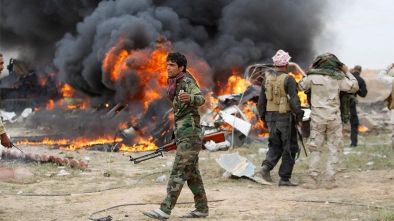 'Tikrit'te IŞİDTamamen Kuşatıldı'