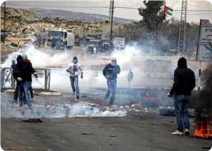 Burin Köyündeki Çatışmalarda Filistinli Birçok Genç Yaralandı