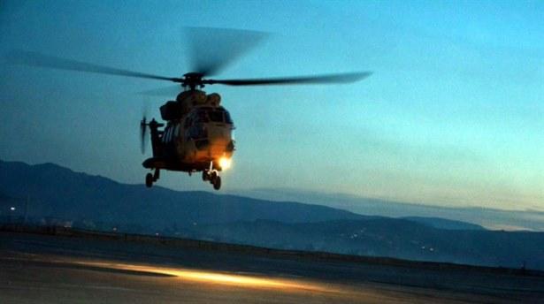 Ukrayna'da Askeri Helikopter Düştü: 1 Ölü