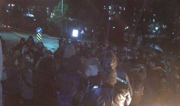 ODTÜ'de Cami'ye giden öğrencilere saldırı