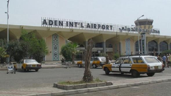 Uluslararası Aden Havalimanı Kapatıldı
