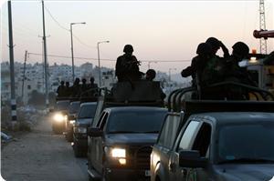 El-Faria Mülteci Kampı'nda Silahlı Kişilerle Güvenlik Görevlileri Çatıştı