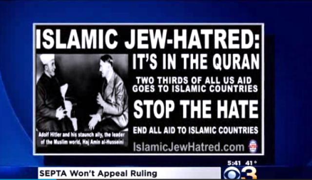 ABD'de İslam Karşıtı Afişe İzin